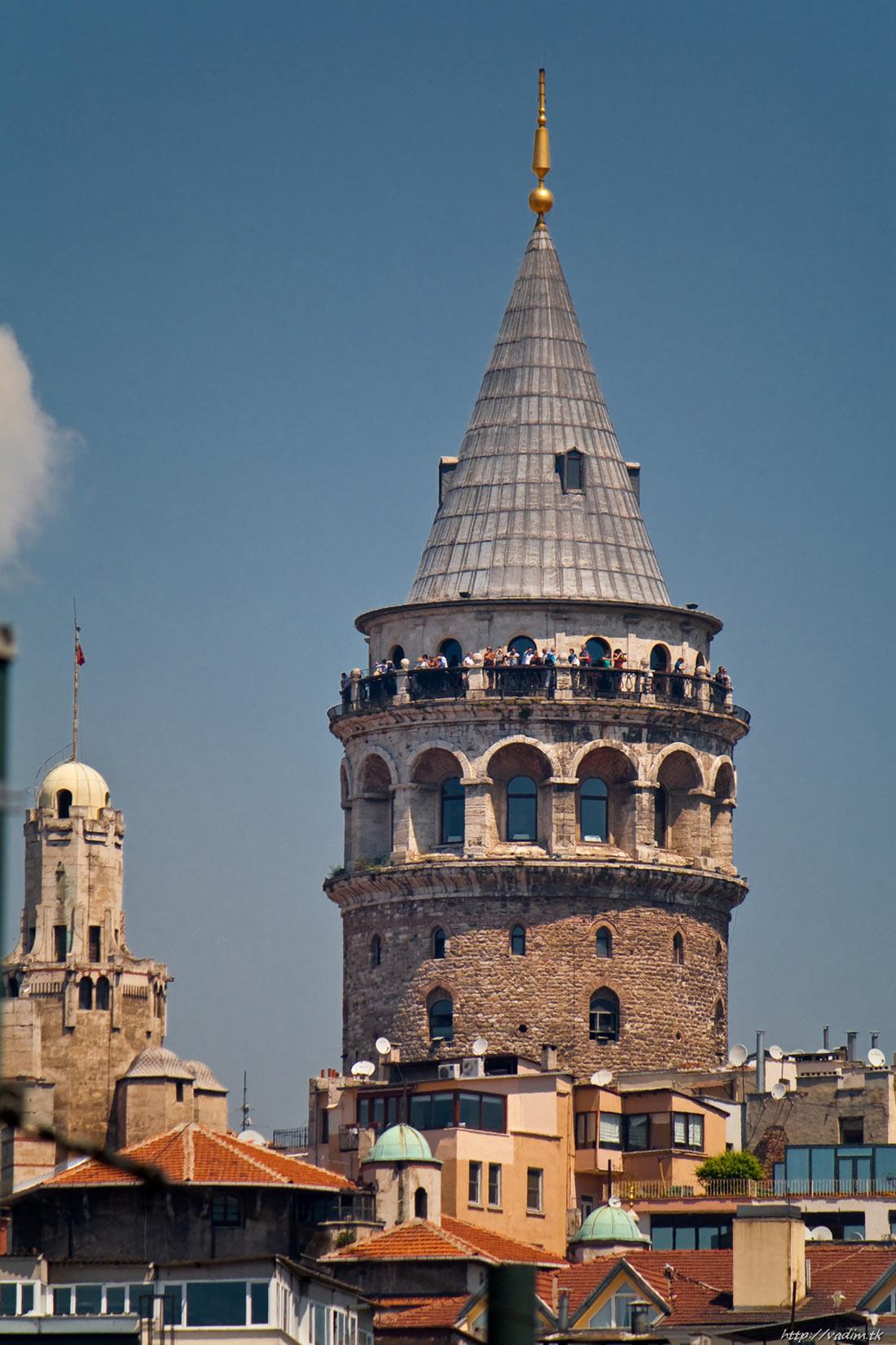 Башня Галата