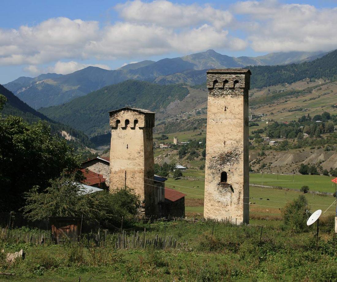 Башни Сванетии