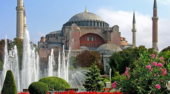 Собор Святой Софии в Константинополе (Айя София)