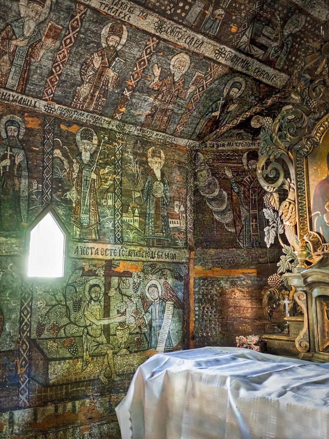 Деревянные церкви исторической области Марамуреш