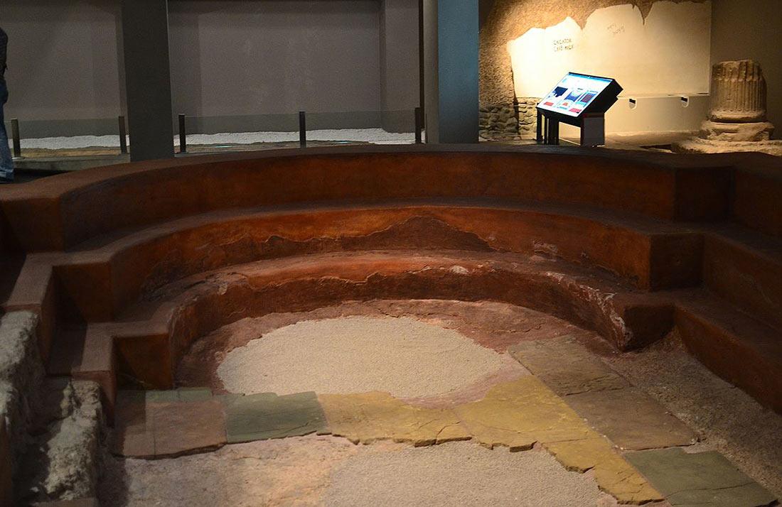 Музей общественных бань Цезараугусты