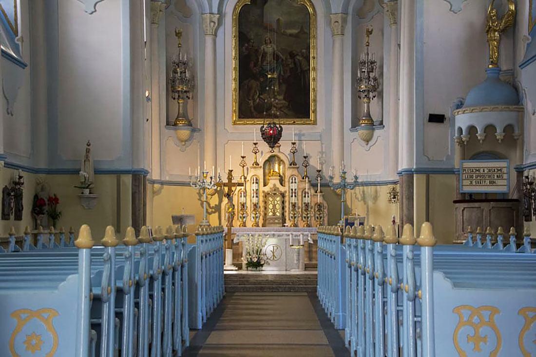Голубая церковь (церковь Святой Елизаветы)