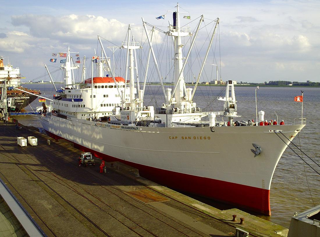 Корабль-музей Кэп Сан-Диего