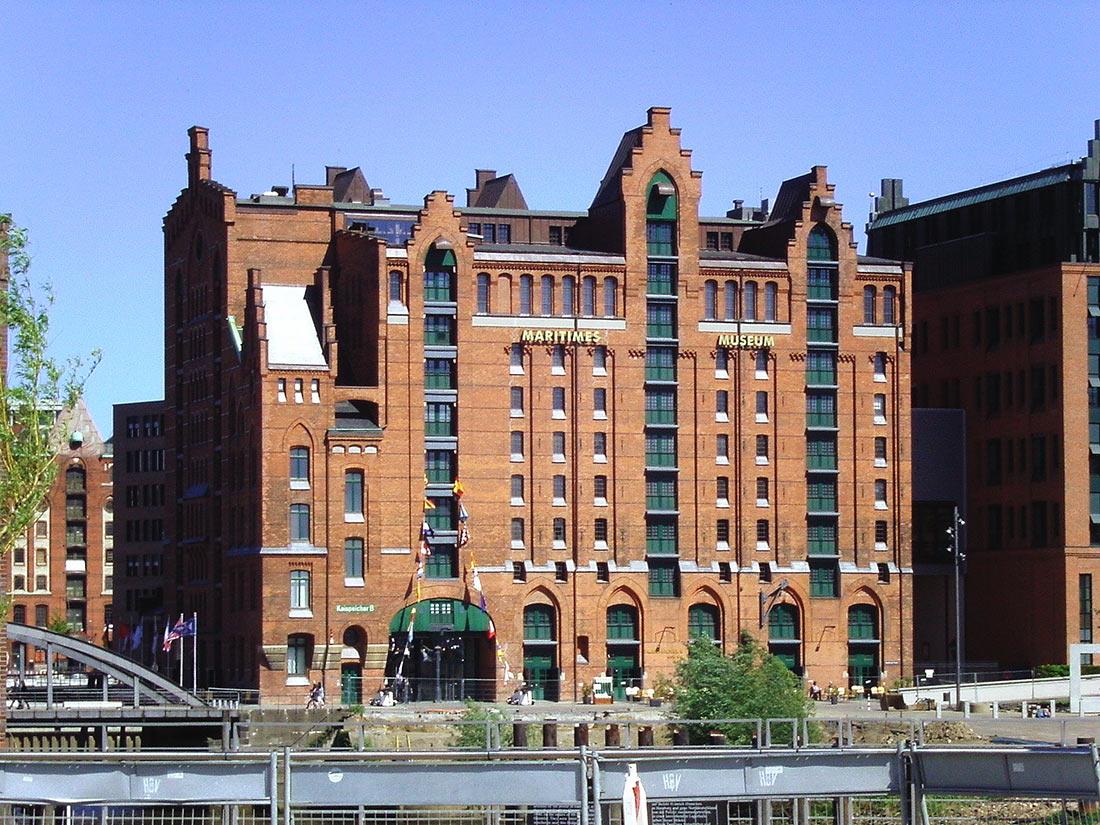 Международный морской музей в Гамбурге