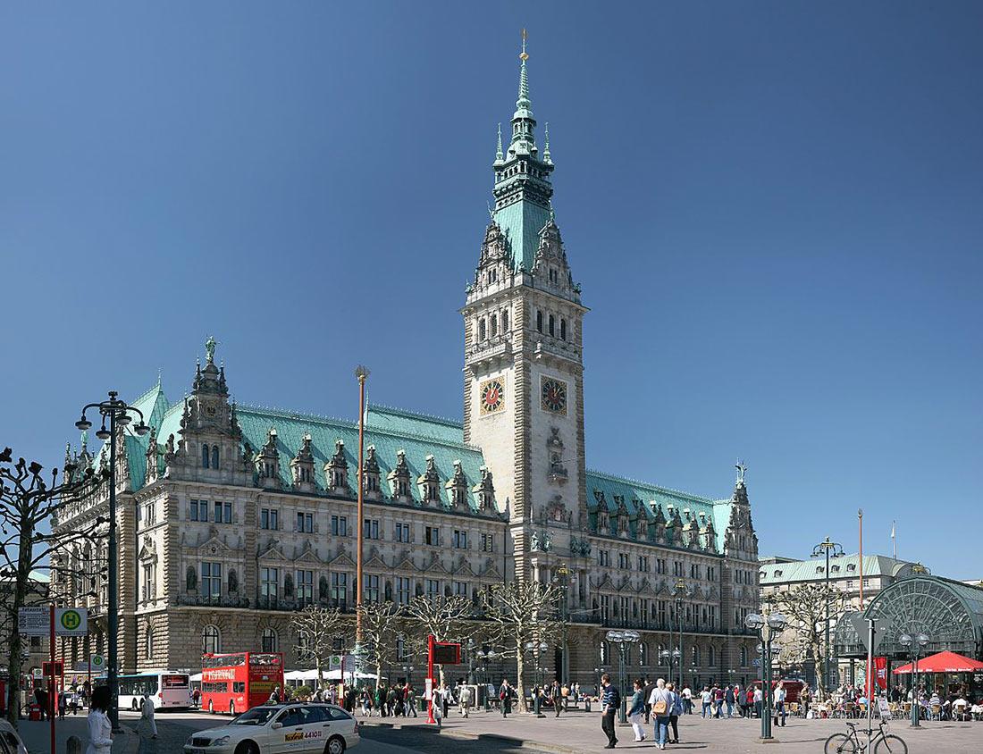 Гамбургская ратуша