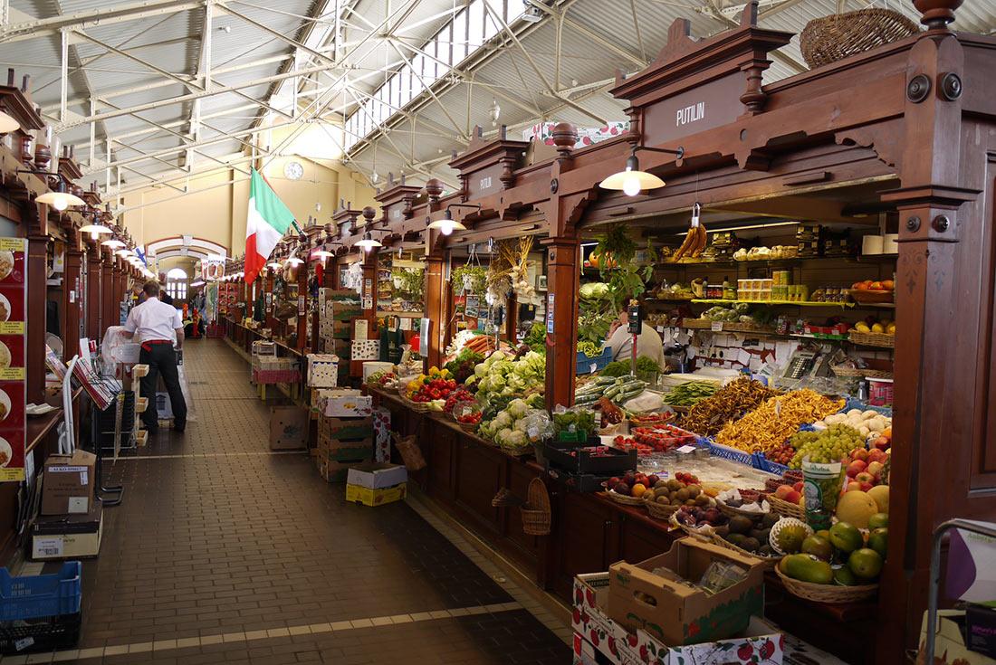 Старый крытый рынок в Хельсинки