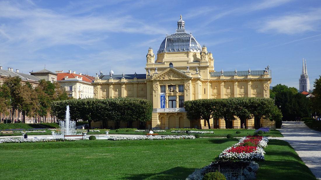 Павильон искусств в Загребе