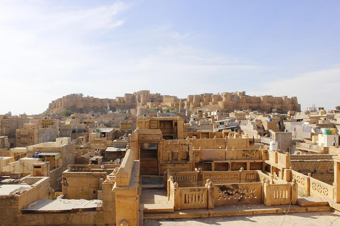 Золотой город Джайсалмер