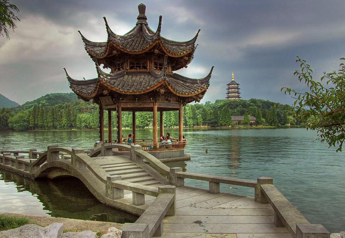 Западное озеро Сиху