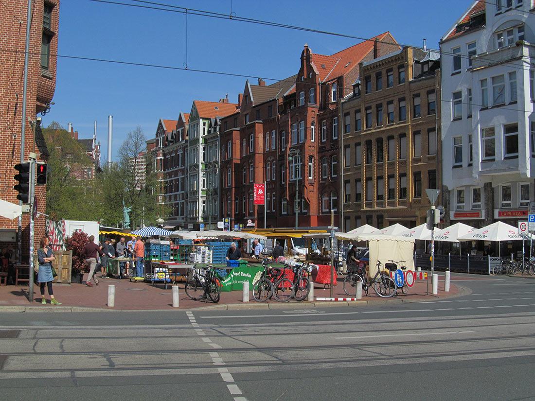 Рыночная площадь Марктплатц