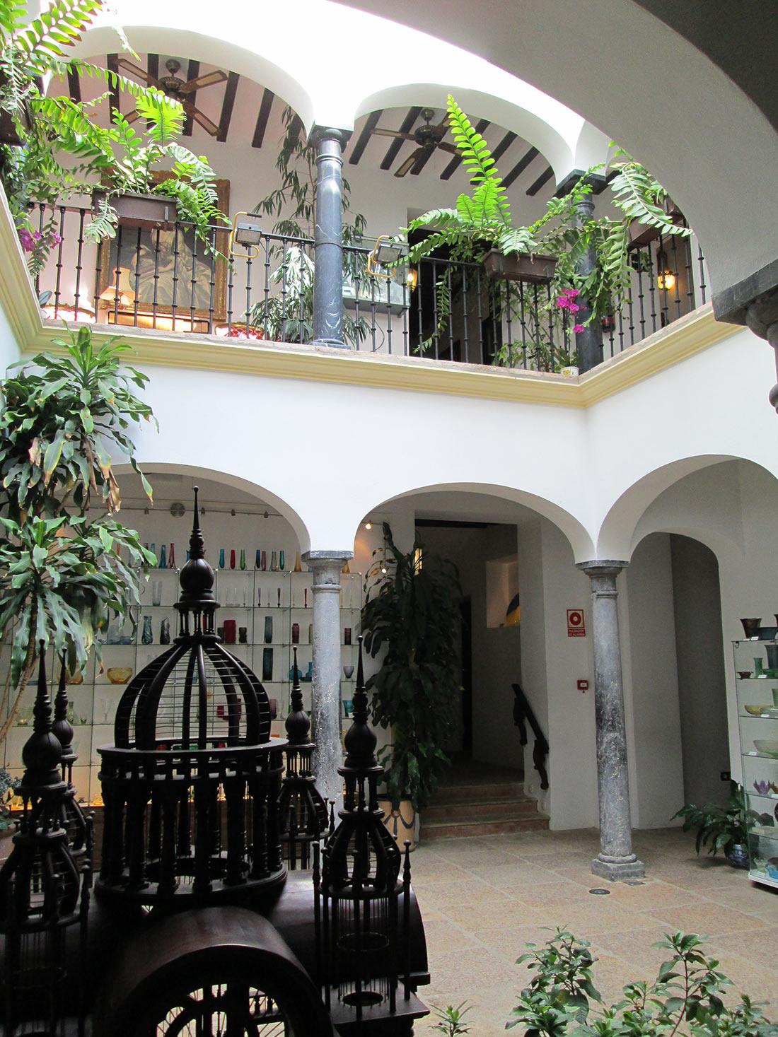 Музей стекла в Малаге