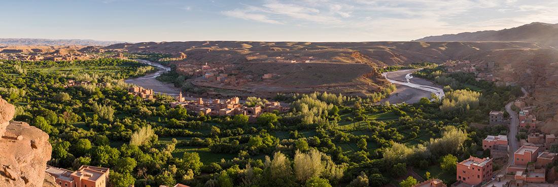 Долина роз Марокко