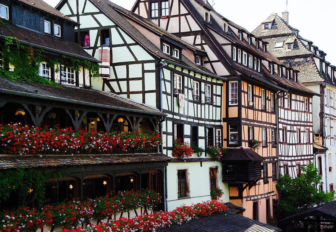 Маленькая Франция район Страсбурга