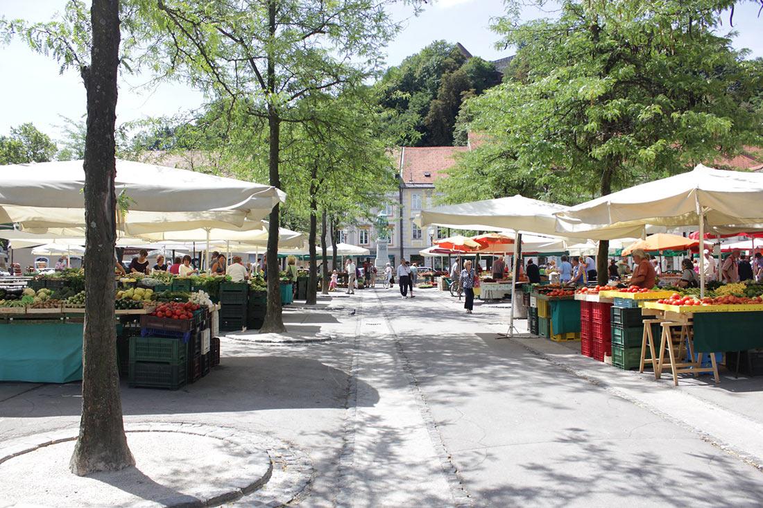 Центральный рынок Любляны