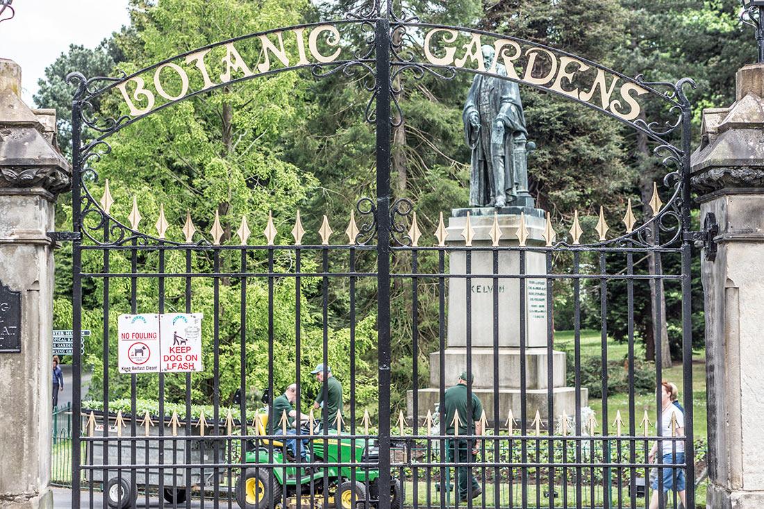 Ботанический сад Белфаста