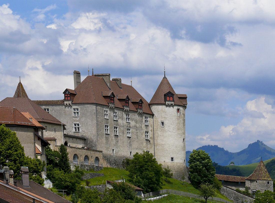 замок Грюйер