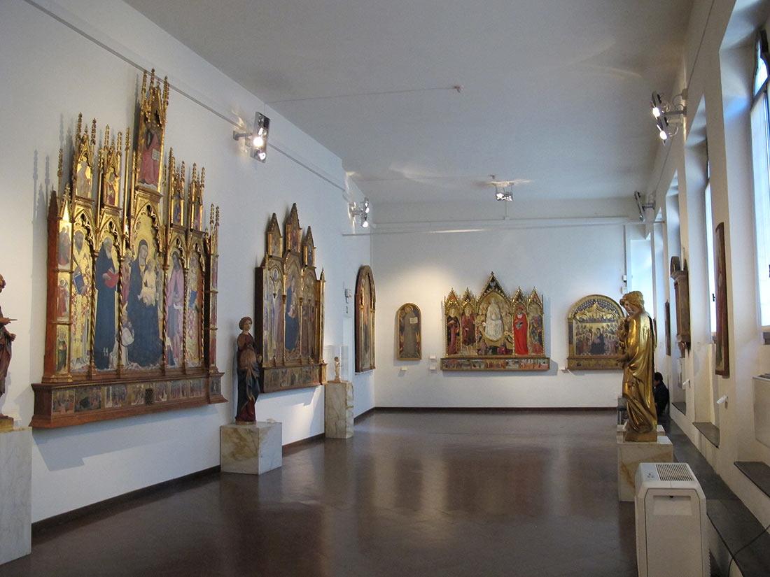 Достопримечательности Сиены: Национальная пинакотека (Национальная галерея)