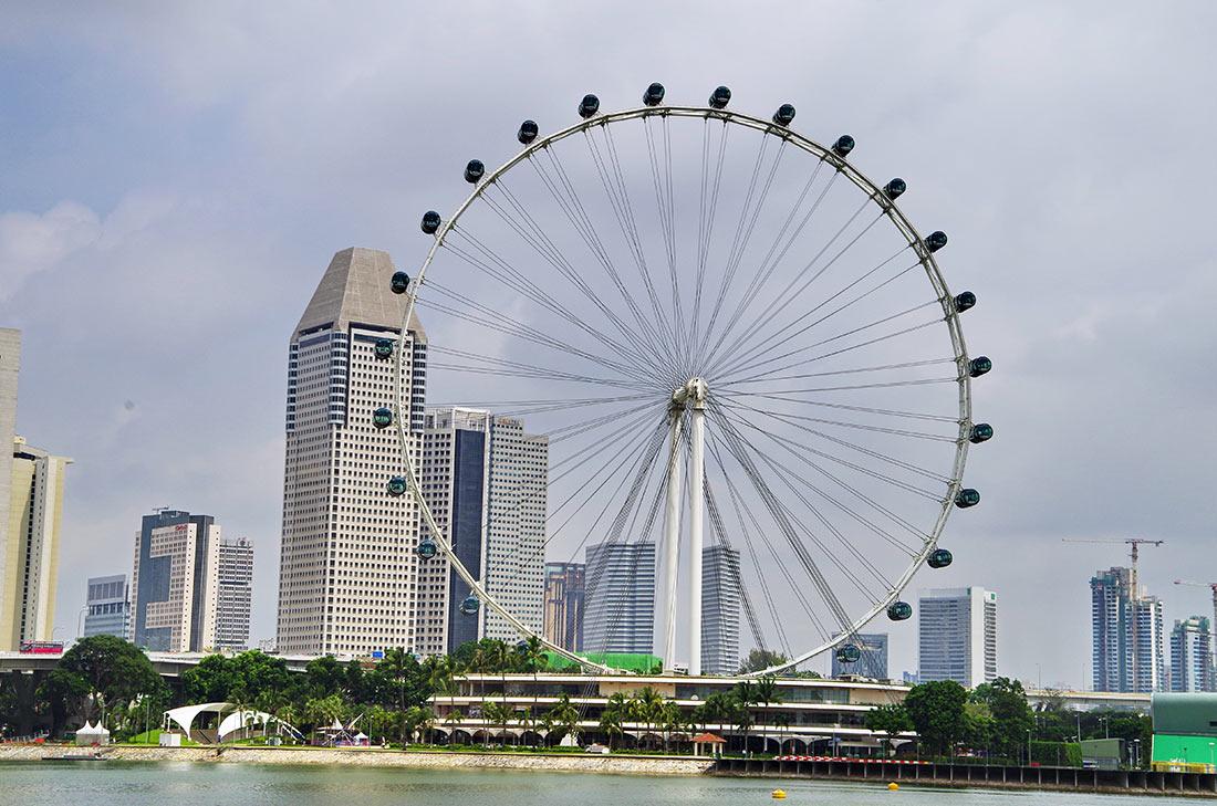 Сингапурское колесо обозрения Flyer