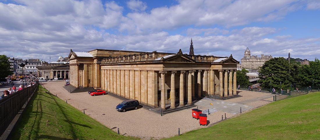 Шотландская национальная галерея и портретная галерея (Scottish National Gallery & Portrait Gallery)