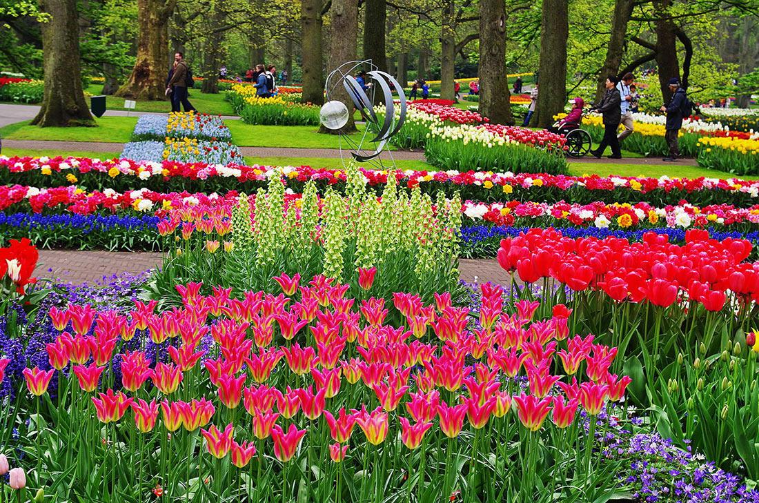 Ботанический сад Кёкенхоф (Keukenhof)