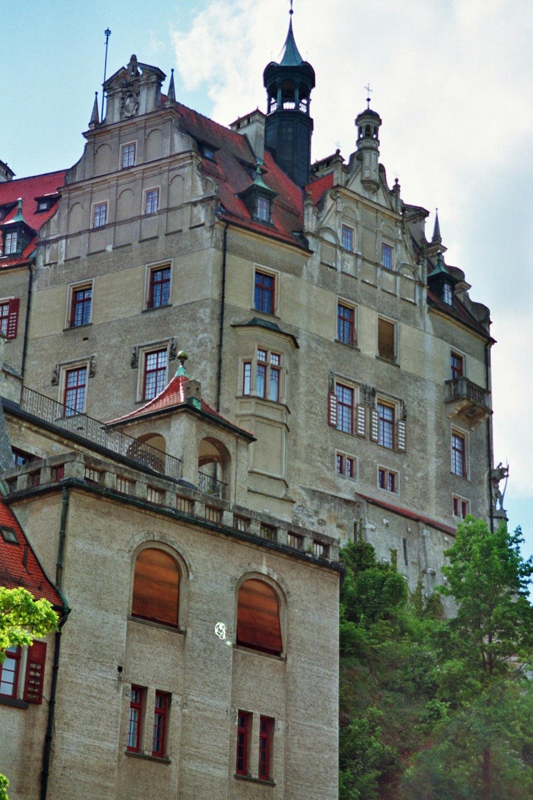 Замок Гогенцоллернов Зигмаринген