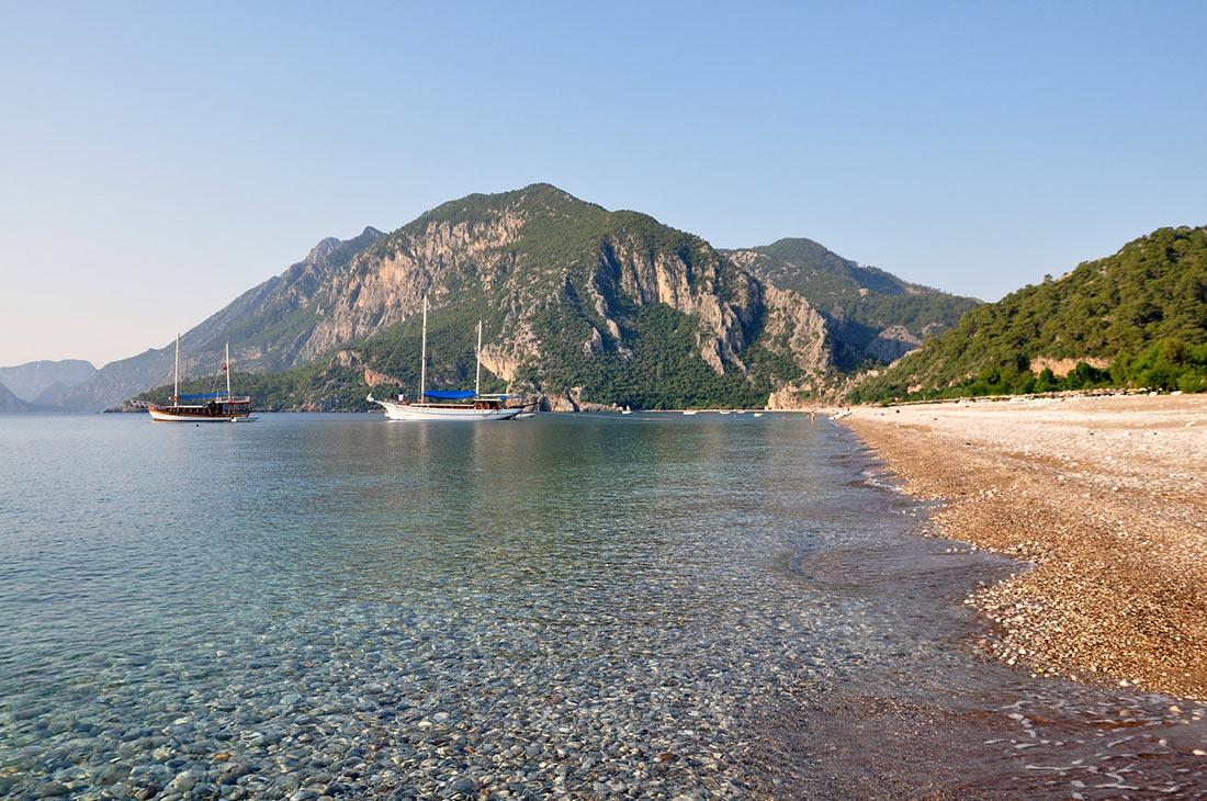 Пляж Чиралы (Çıralı Plajı)