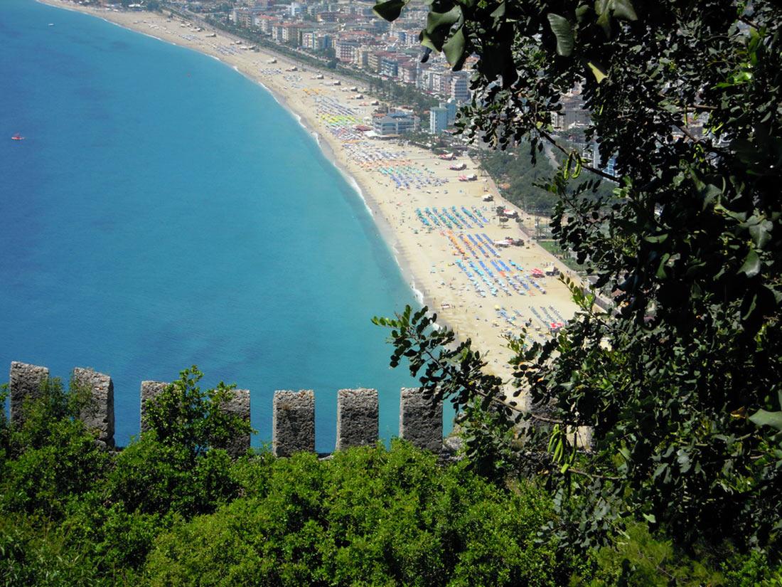 Пляж Клеопатры, Аланья (Kleopatra Plajı)