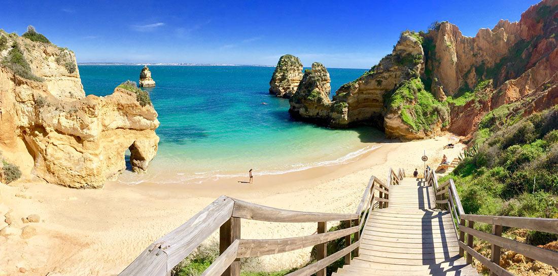 Пляж Камило (Praia do Camilo)