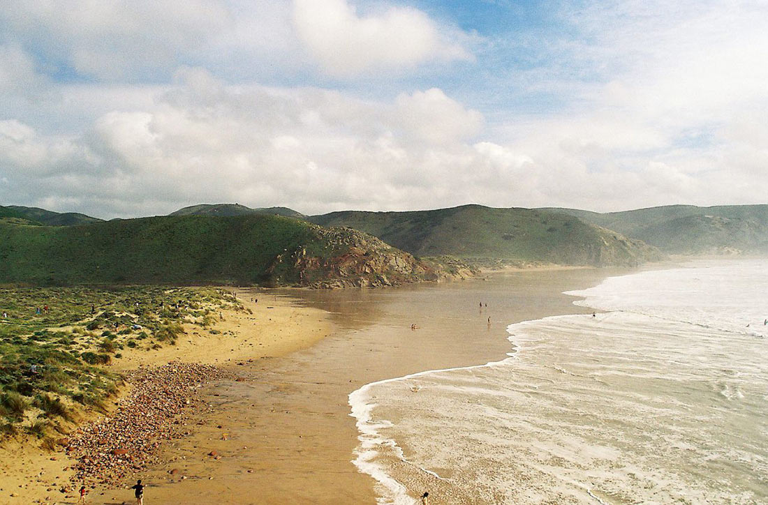 Пляж Амаду (Praia do Amado)