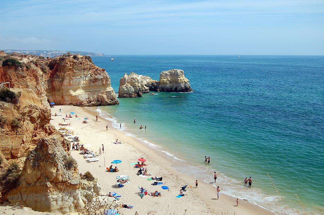 Пляж Роша (Praia da Rocha)