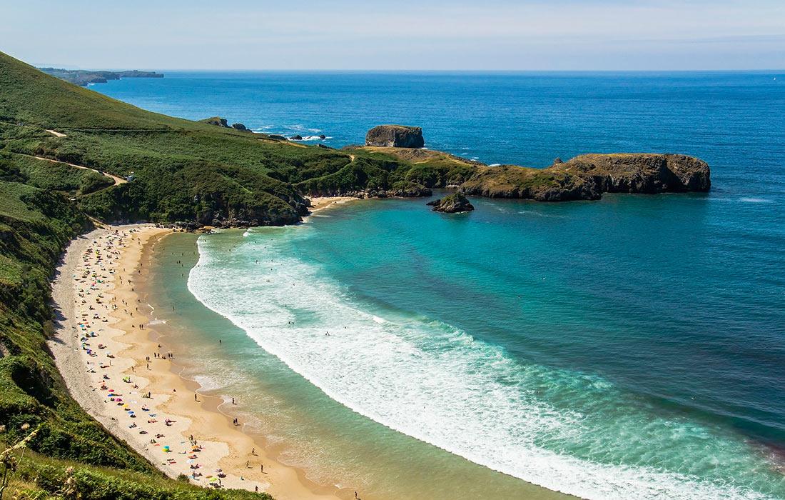 Пляж Торимбия (Playa de Torimbia)