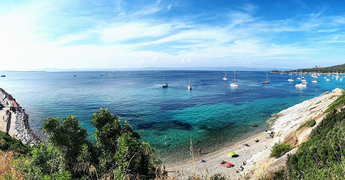 Пляжи острова Поркероль