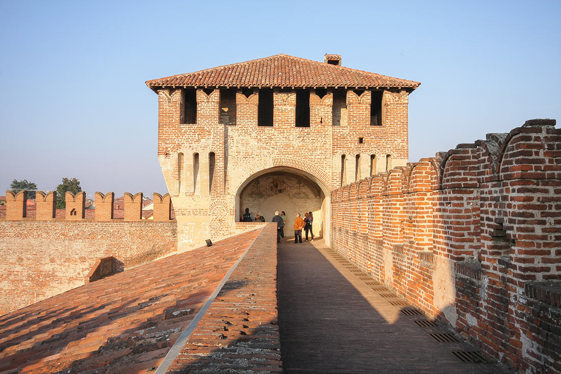 Замок Сончино (Rocca Sforzesca di Soncino)