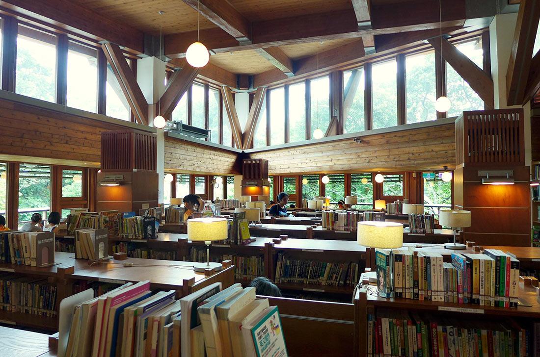Общественная библиотека Тайбэя