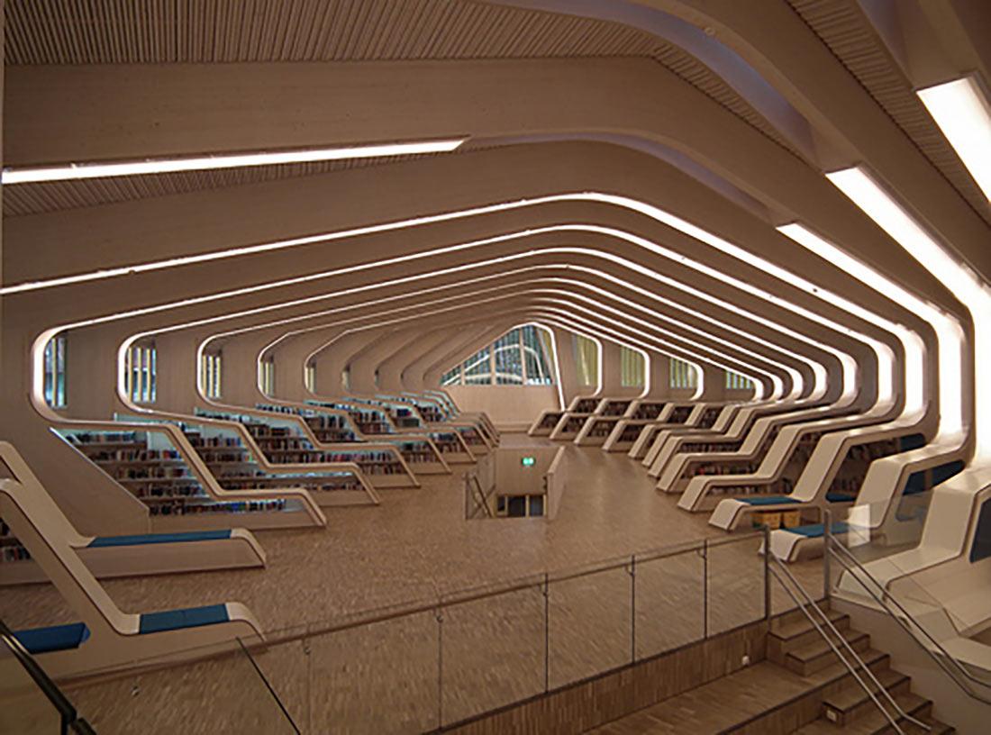 Веннесльская Библиотека и культурный центр