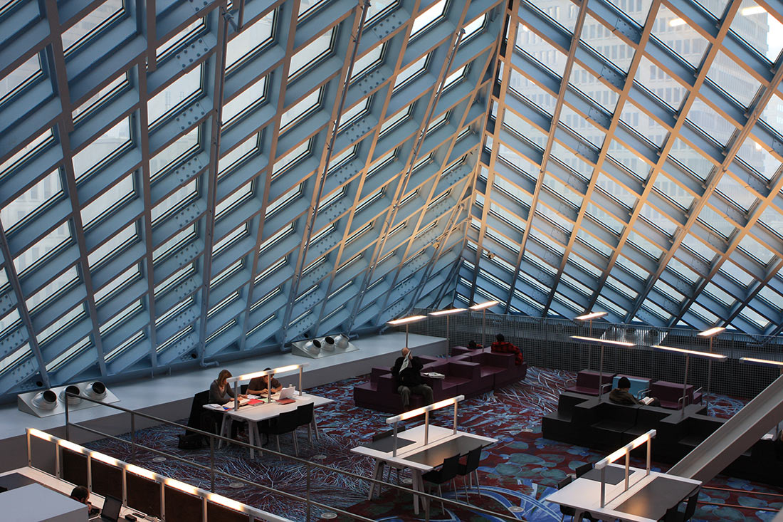 Общественная библиотека Сиэтла