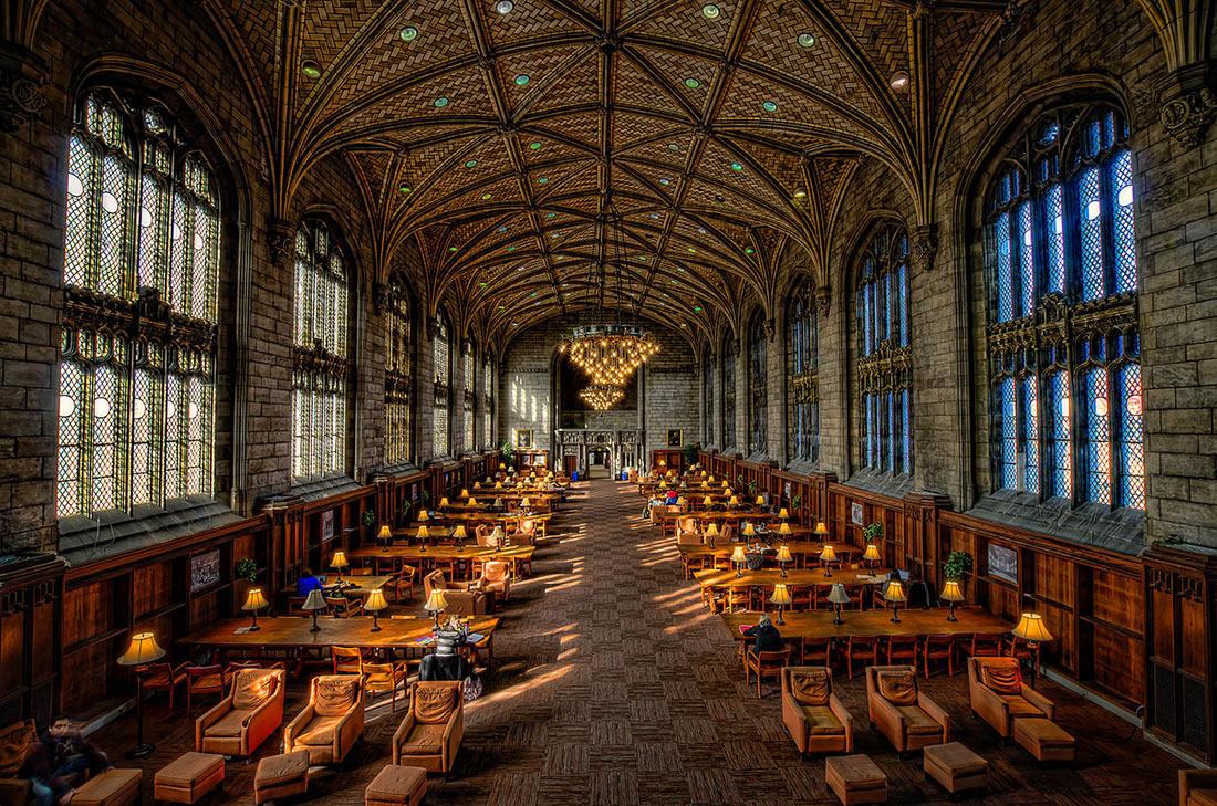 Библиотека Харпер Мемориал в Чикагском университете