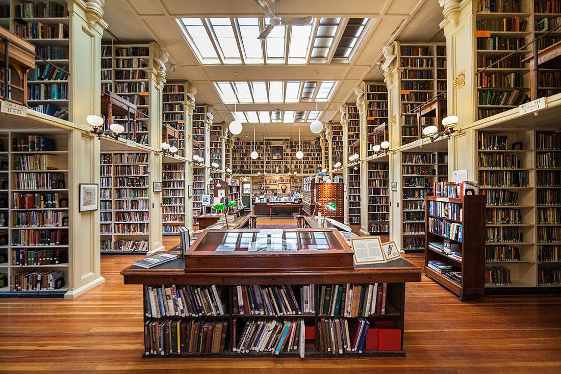 Библиотека Филлипс Мемориал в колледже Провиденс