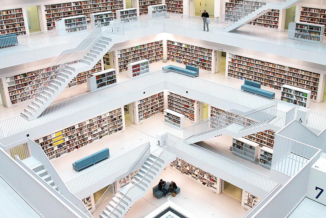 Муниципальная библиотека Штутгарта