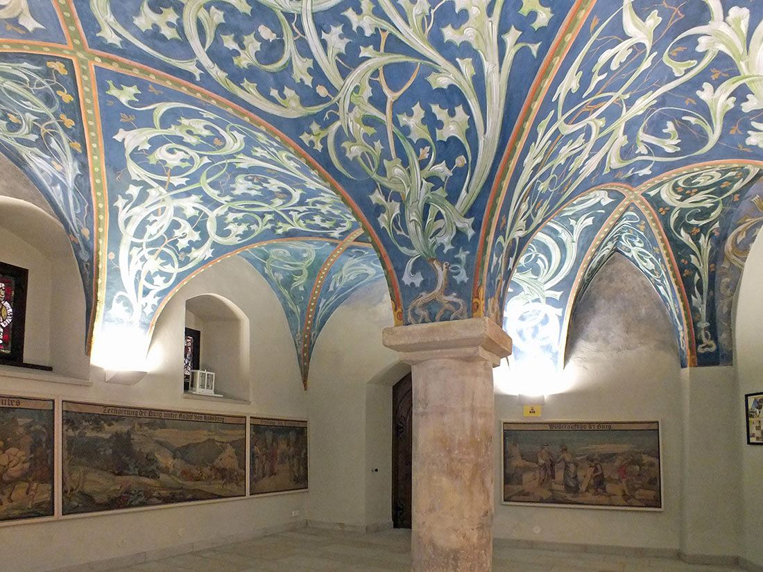 Зал Орламюнде замка Лауэнштайн